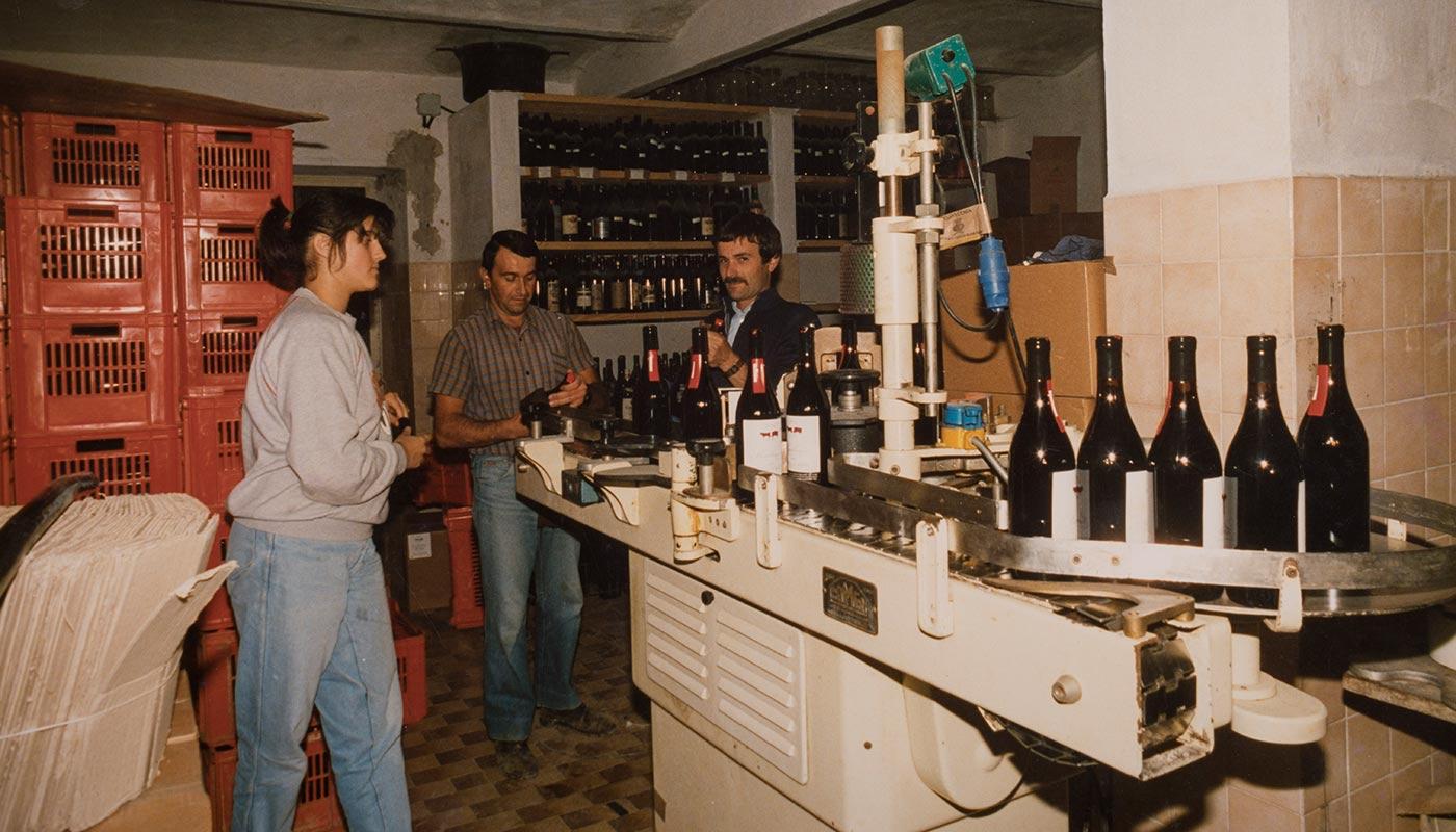 Foto storiche dell'Azienda Piazzo - Vini delle Langhe